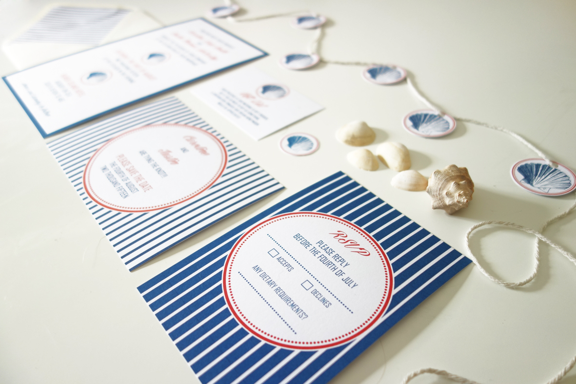 DIY FREE Nautical Wedding Invitation Template | BE INSPIRED BRIDE